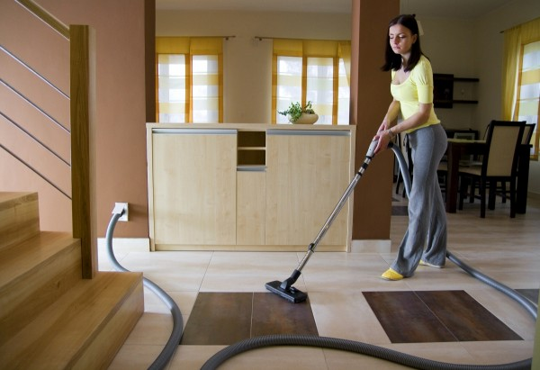 Vacuum lady